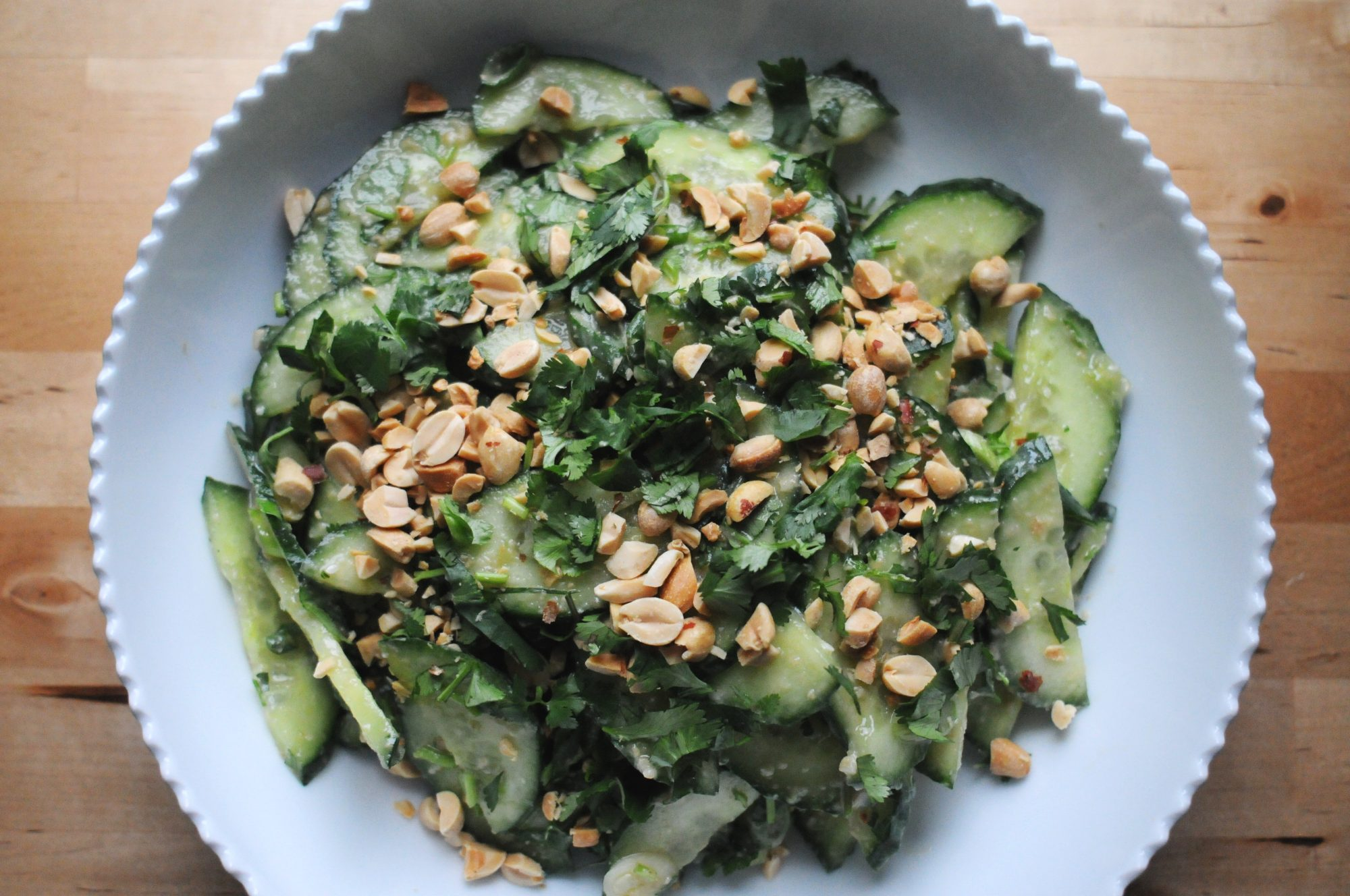 Miso-Ginger Cucumber Salad